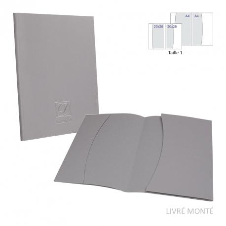 Porte-documents - 2 poches Oblique - T1