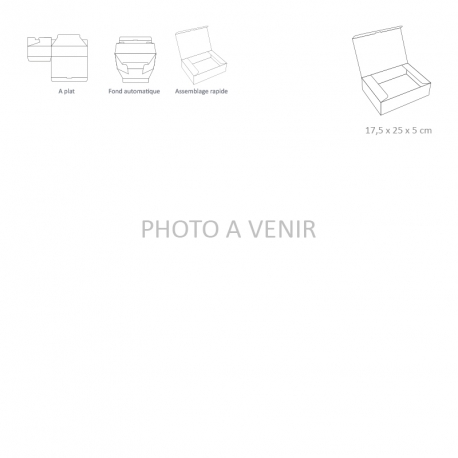 """Ouverture """"Grand Côté"""" - 17,5 x 25 x 5 cm"""