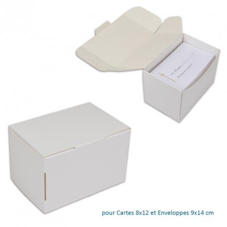 Boite pour Cartes 8x12 et env. 9x14 cm