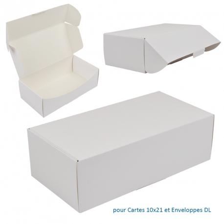 Boite pour Cartes 10x21 et env. DL